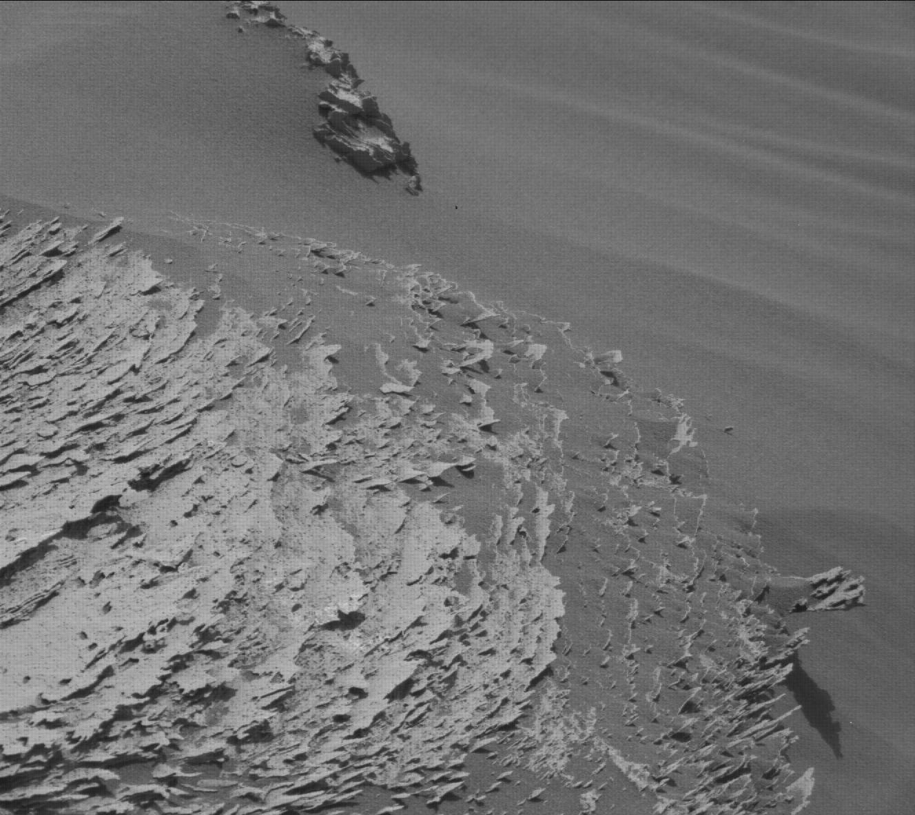 Nasa's Mars rover Curiosity acquired this image using its Mast Camera (Mastcam) on Sol 3054