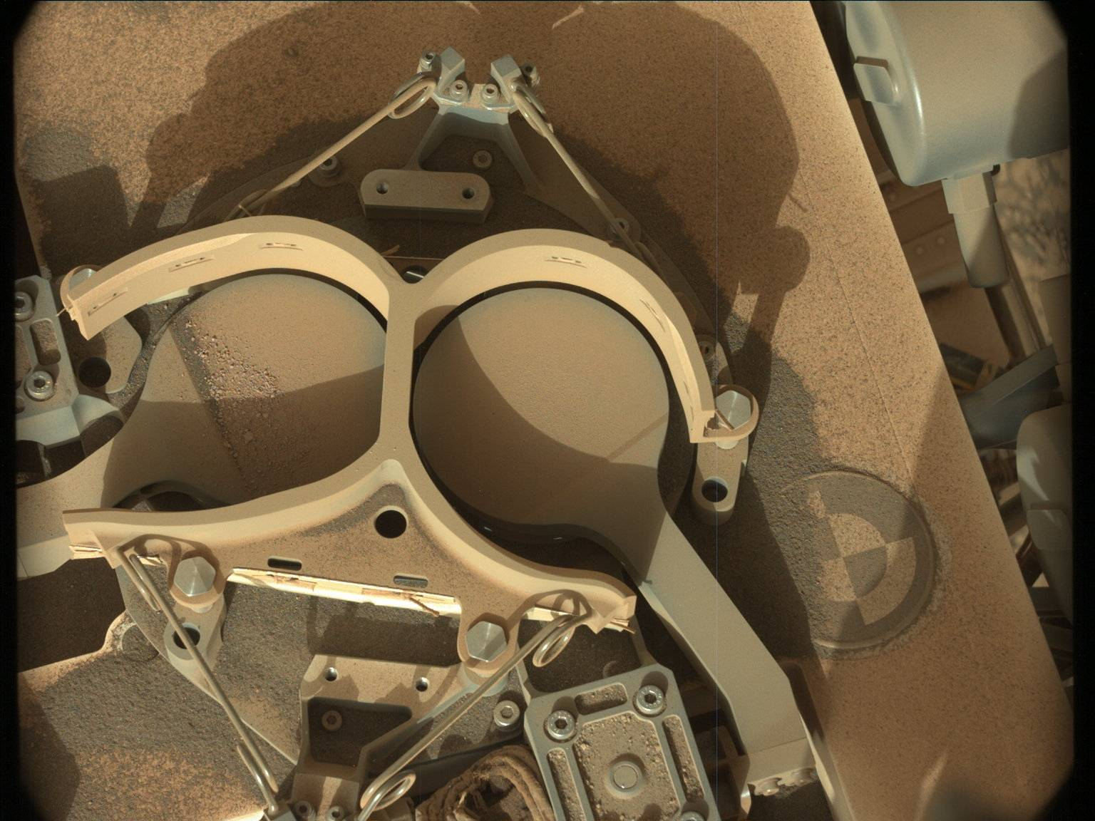 Nasa's Mars rover Curiosity acquired this image using its Mast Camera (Mastcam) on Sol 3065