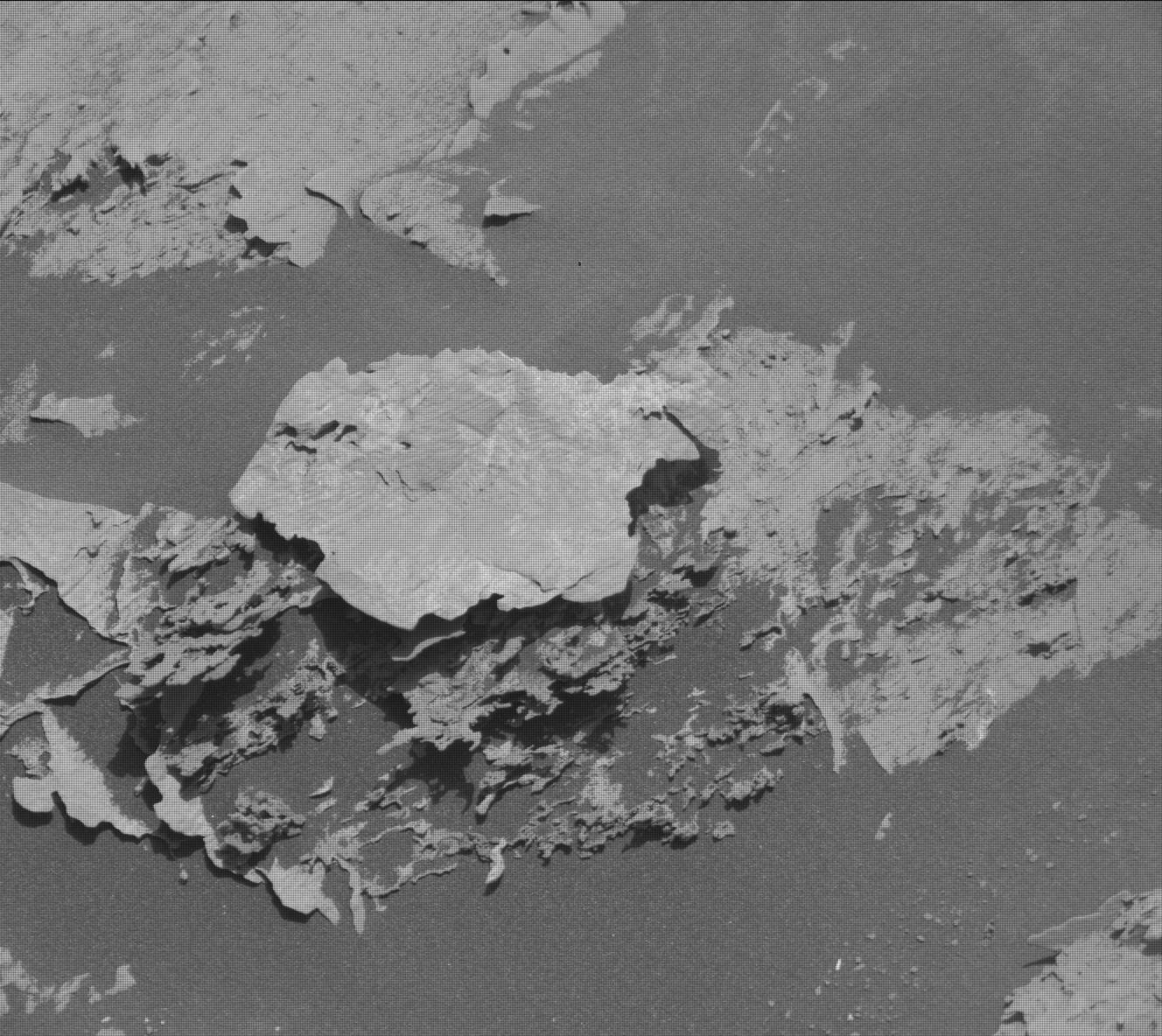 Nasa's Mars rover Curiosity acquired this image using its Mast Camera (Mastcam) on Sol 3085