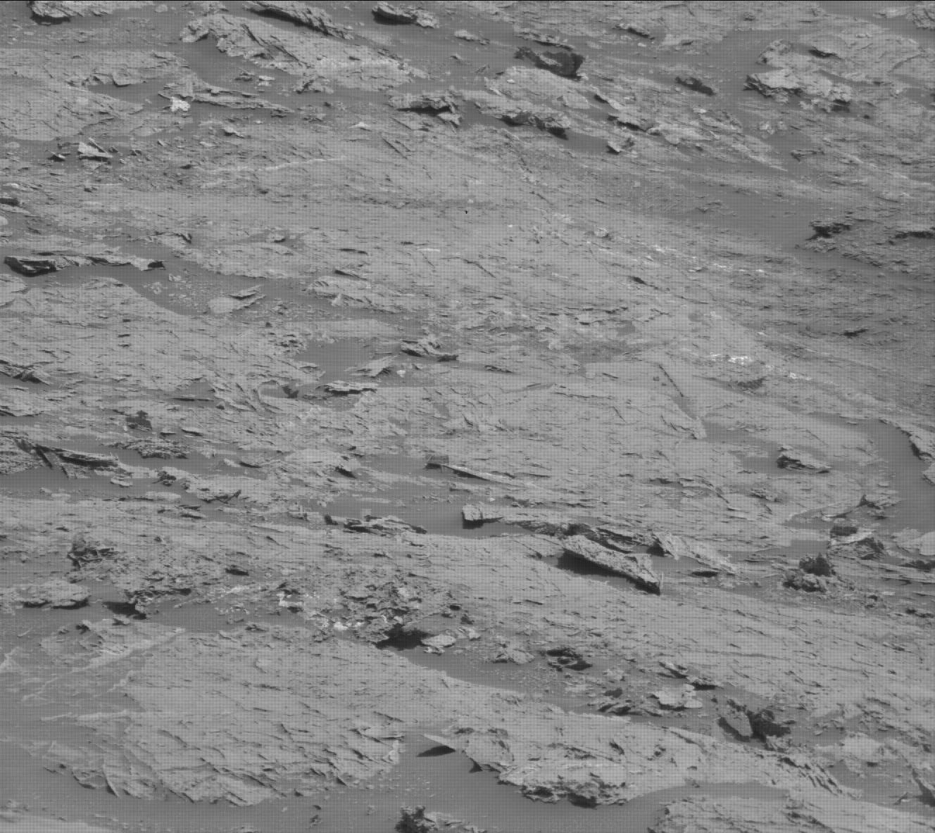 Nasa's Mars rover Curiosity acquired this image using its Mast Camera (Mastcam) on Sol 3103