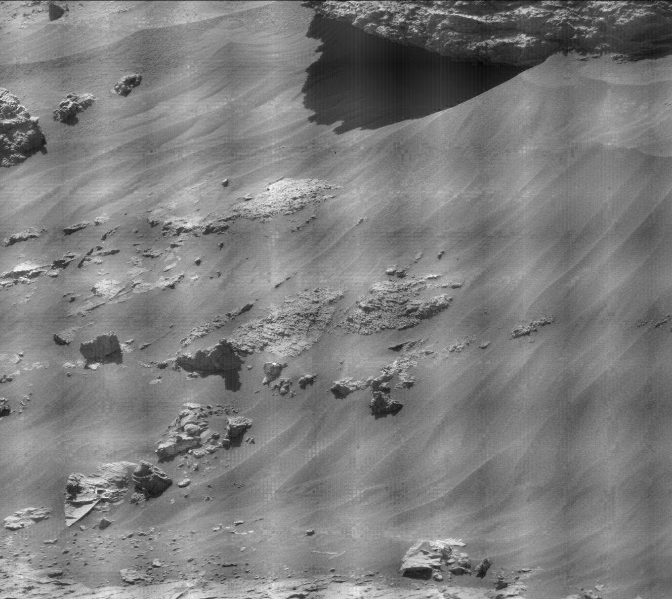 Nasa's Mars rover Curiosity acquired this image using its Mast Camera (Mastcam) on Sol 3153