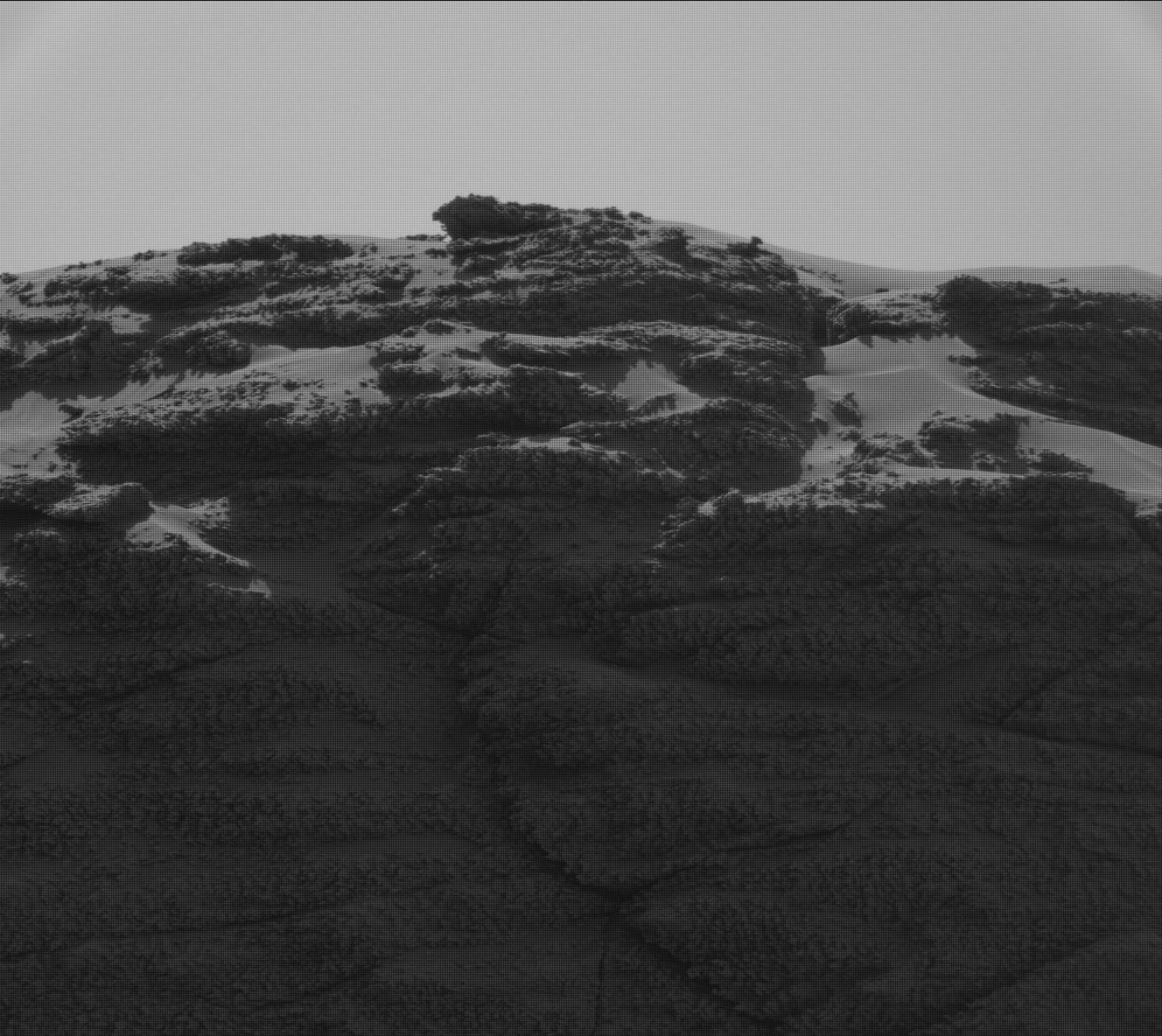 Nasa's Mars rover Curiosity acquired this image using its Mast Camera (Mastcam) on Sol 3190