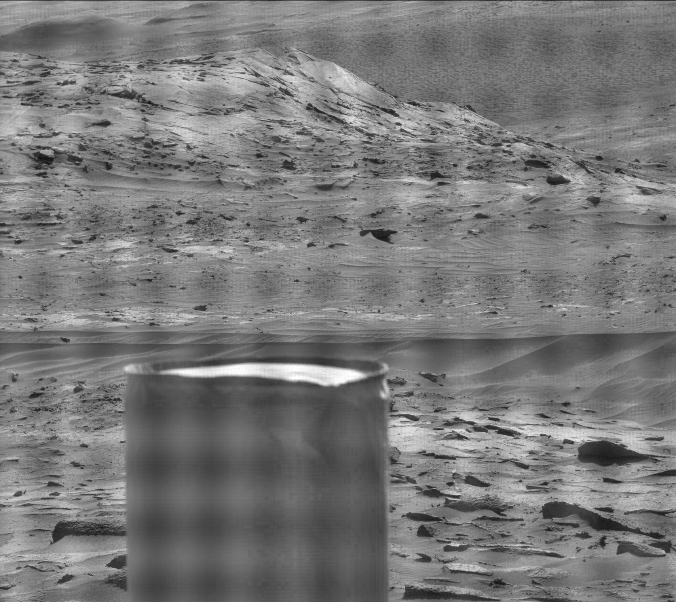 Nasa's Mars rover Curiosity acquired this image using its Mast Camera (Mastcam) on Sol 3225