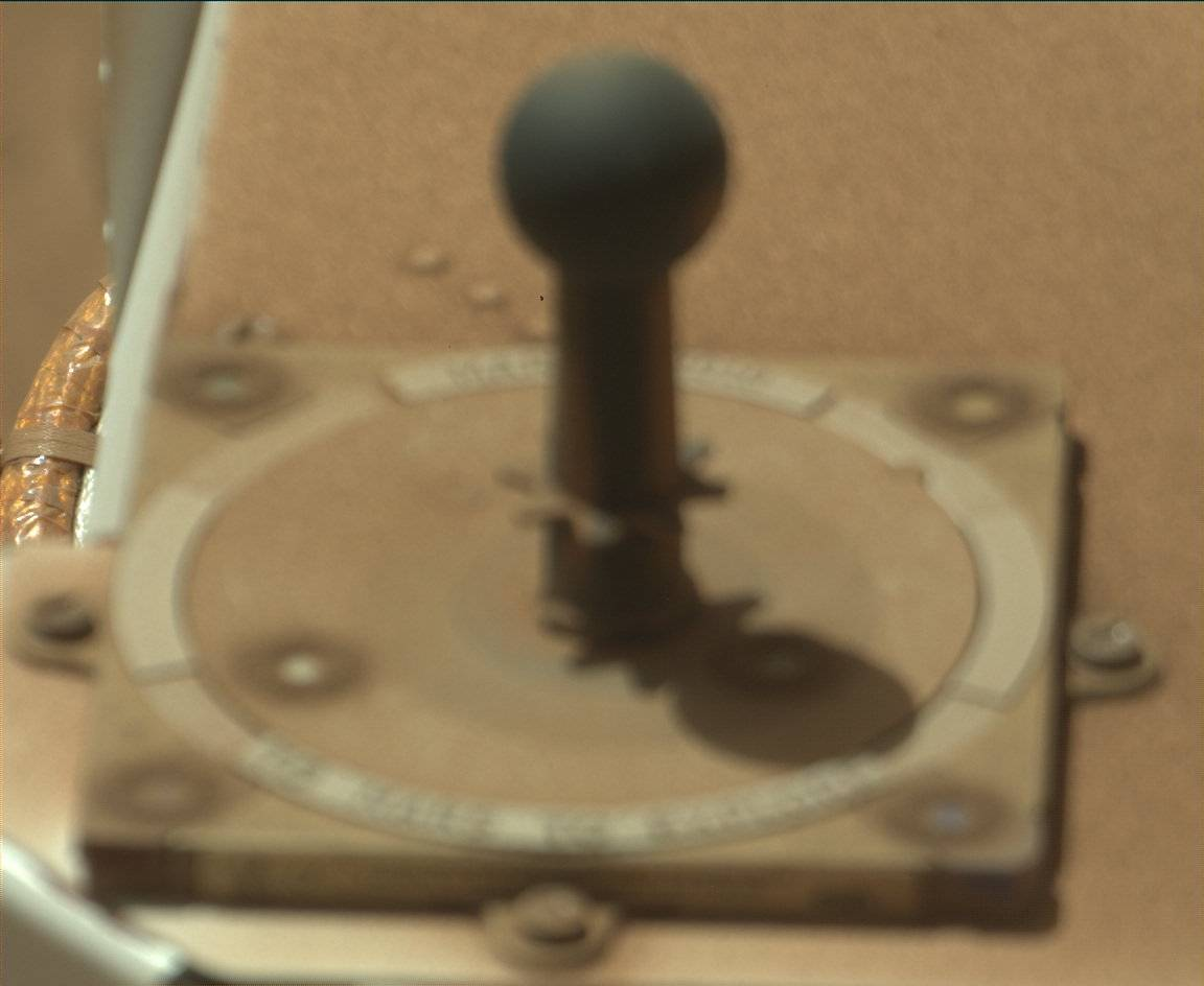 Nasa's Mars rover Curiosity acquired this image using its Mast Camera (Mastcam) on Sol 3230