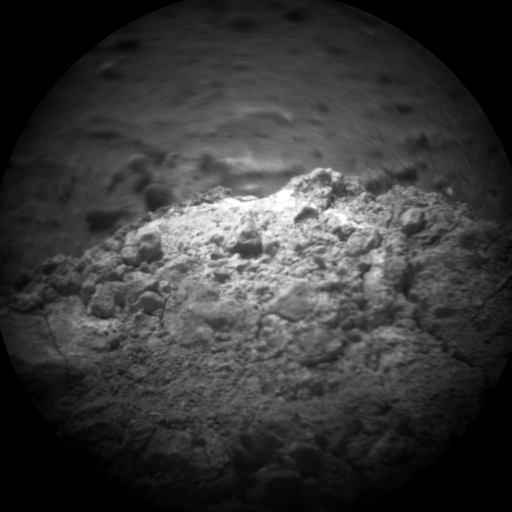 Nasa's Mars rover Curiosity acquired this image using its Chemistry & Camera (ChemCam) on Sol 19, at drive 78, site number 3