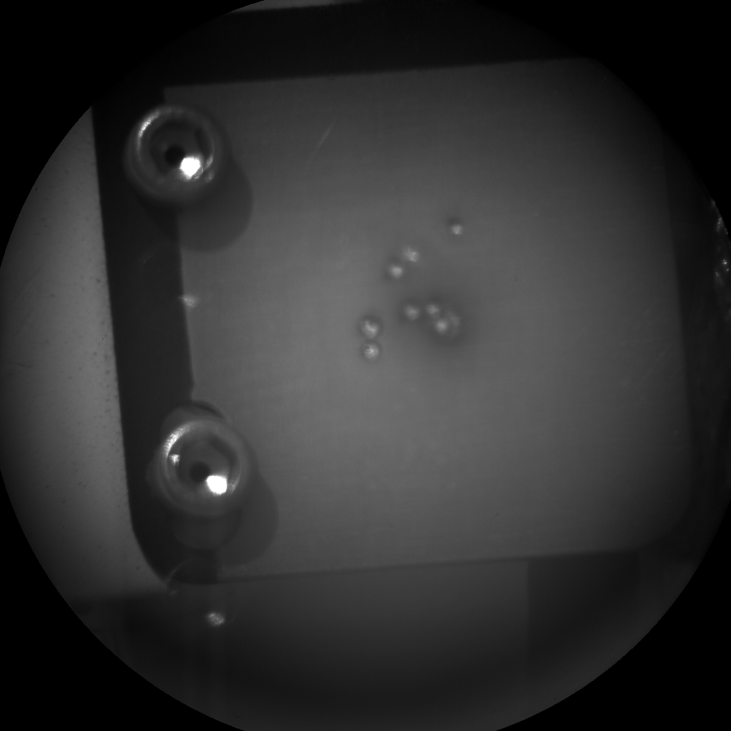 Nasa's Mars rover Curiosity acquired this image using its Chemistry & Camera (ChemCam) on Sol 30, at drive 0, site number 4