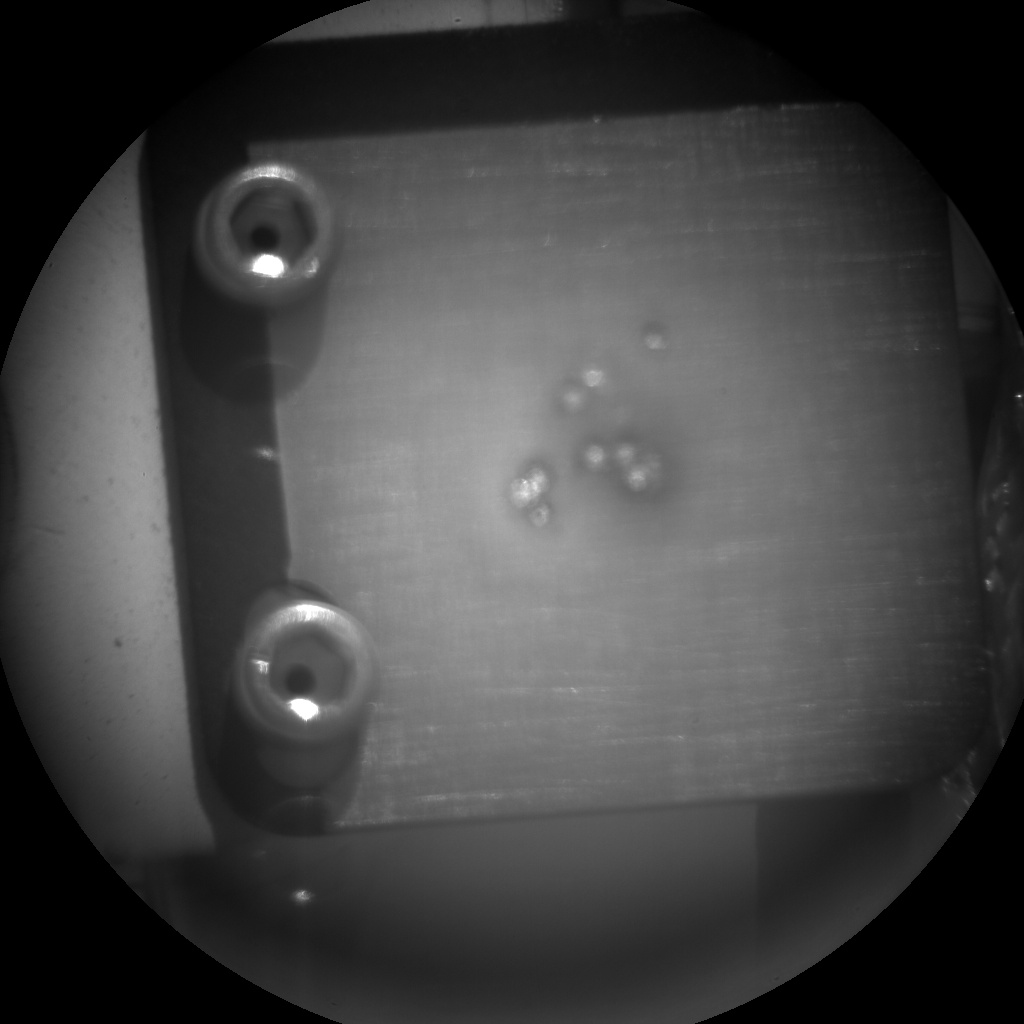 NASA's Mars rover Curiosity acquired this image using its Chemistry & Camera (ChemCam) on Sol 56