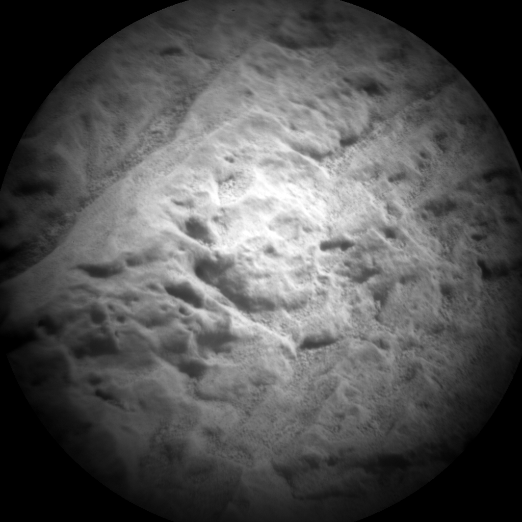 Nasa's Mars rover Curiosity acquired this image using its Chemistry & Camera (ChemCam) on Sol 68, at drive 104, site number 5