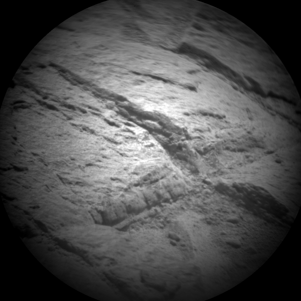 Nasa's Mars rover Curiosity acquired this image using its Chemistry & Camera (ChemCam) on Sol 71, at drive 104, site number 5