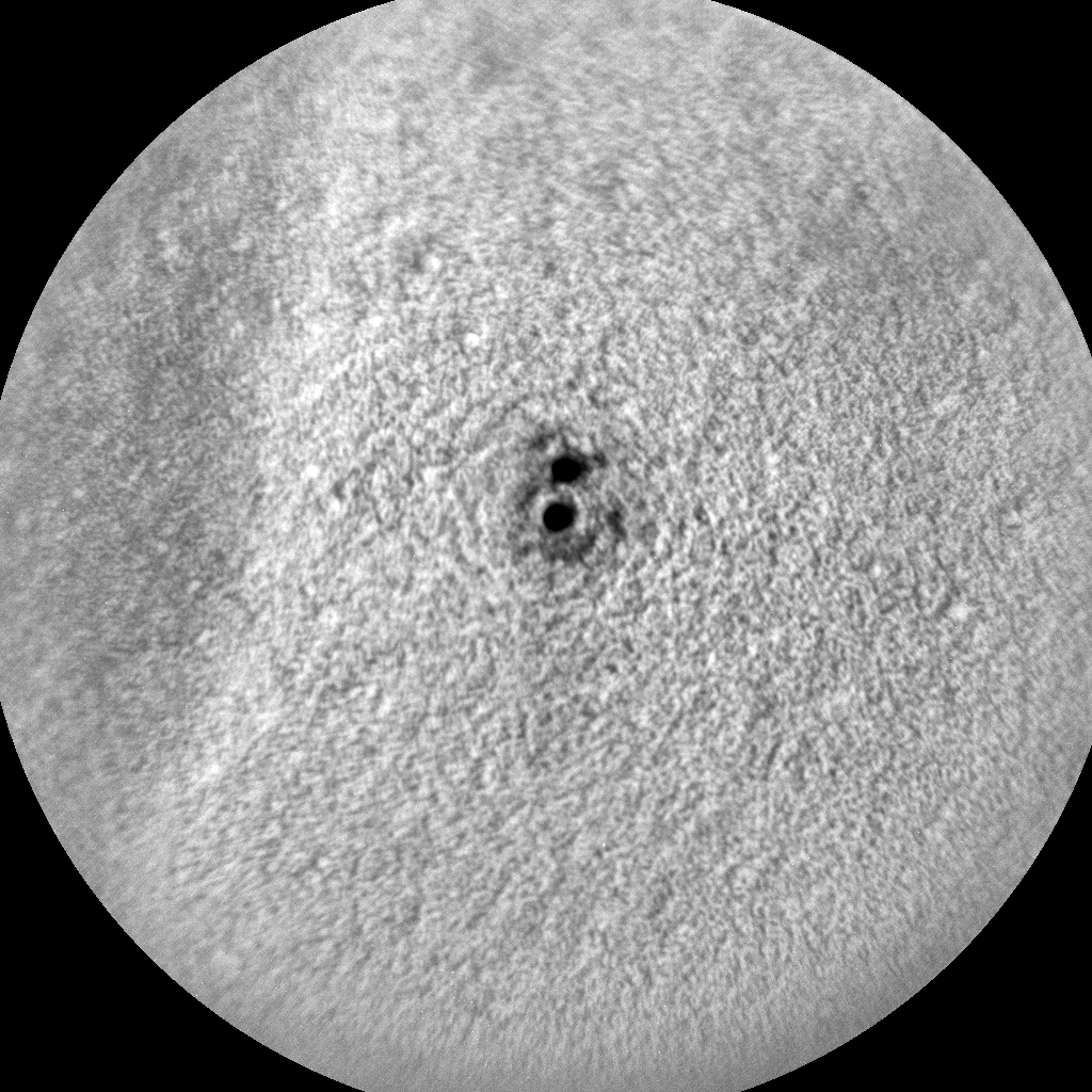 Nasa's Mars rover Curiosity acquired this image using its Chemistry & Camera (ChemCam) on Sol 75, at drive 104, site number 5