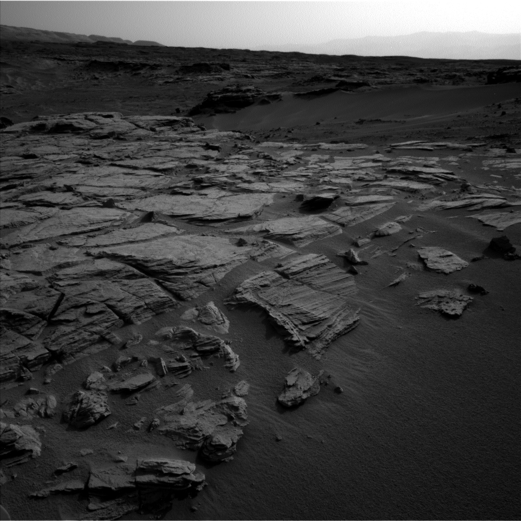 Nasa's Mars rover Curiosity acquired this image using its Left Navigation Camera on Sol 744, at drive 1570, site number 41