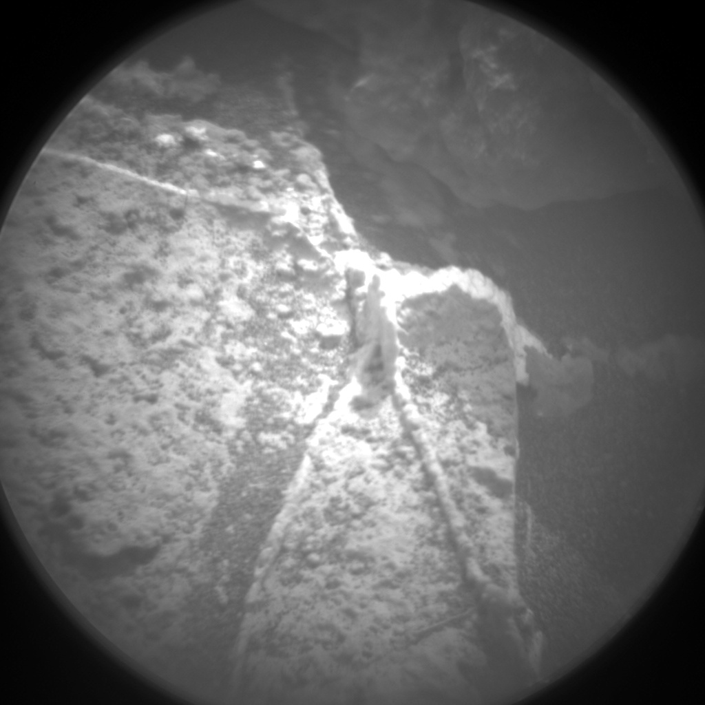 Nasa's Mars rover Curiosity acquired this image using its Chemistry & Camera (ChemCam) on Sol 853, at drive 2414, site number 44