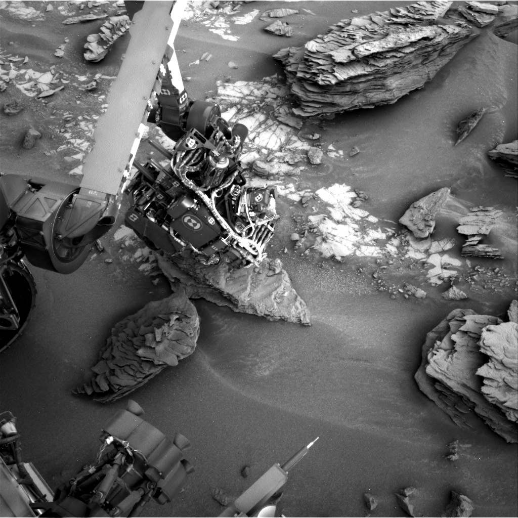 Nasa's Mars rover Curiosity acquired this image using its Right Navigation Camera on Sol 853, at drive 2414, site number 44
