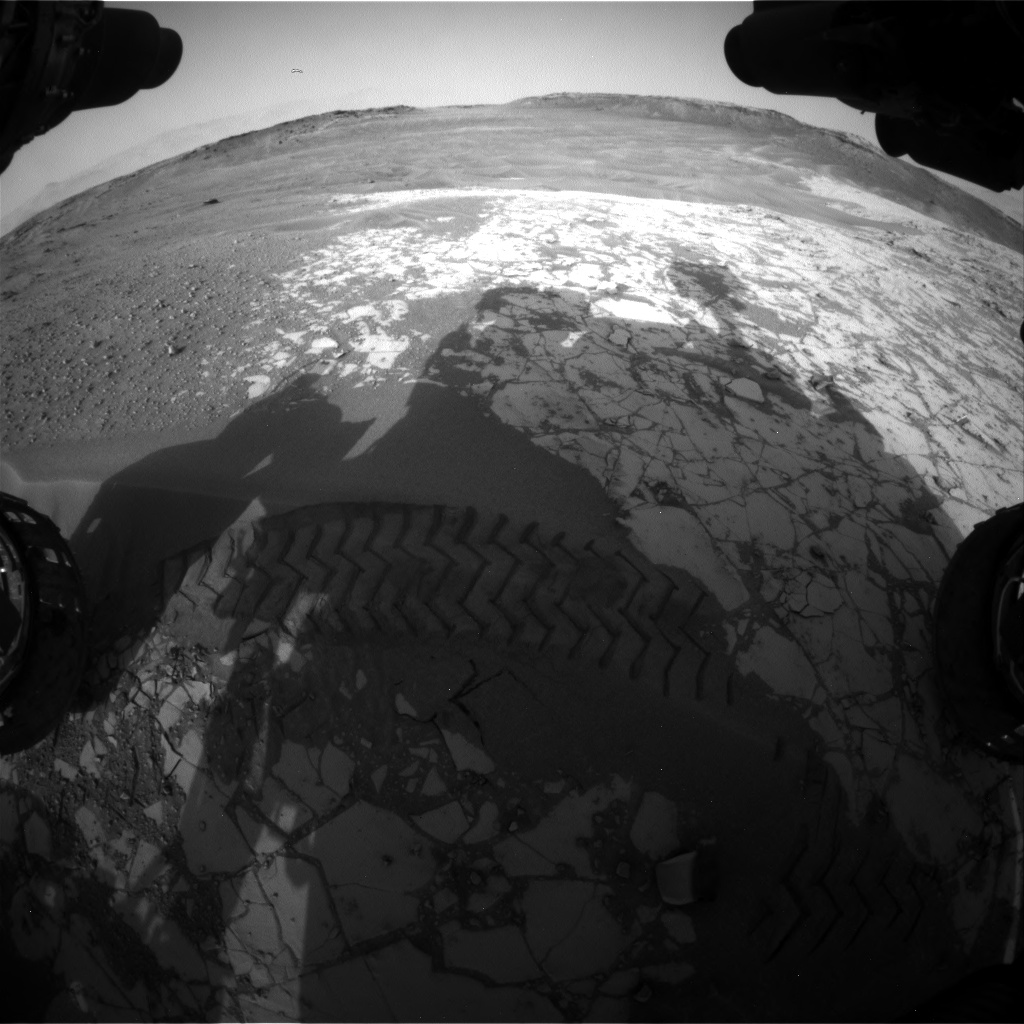 Nasa's Mars rover Curiosity acquired this image using its Front Hazard Avoidance Camera (Front Hazcam) on Sol 862, at drive 2958, site number 44