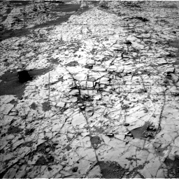 Nasa's Mars rover Curiosity acquired this image using its Left Navigation Camera on Sol 862, at drive 2654, site number 44