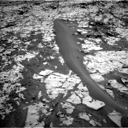 Nasa's Mars rover Curiosity acquired this image using its Left Navigation Camera on Sol 862, at drive 2756, site number 44