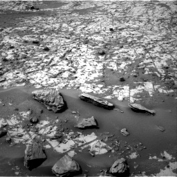 Nasa's Mars rover Curiosity acquired this image using its Right Navigation Camera on Sol 862, at drive 2600, site number 44