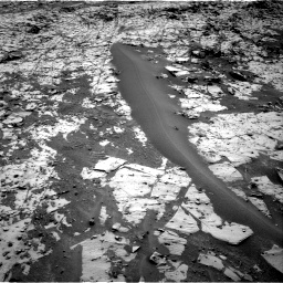Nasa's Mars rover Curiosity acquired this image using its Right Navigation Camera on Sol 862, at drive 2750, site number 44
