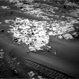 Nasa's Mars rover Curiosity acquired this image using its Right Navigation Camera on Sol 862, at drive 2846, site number 44
