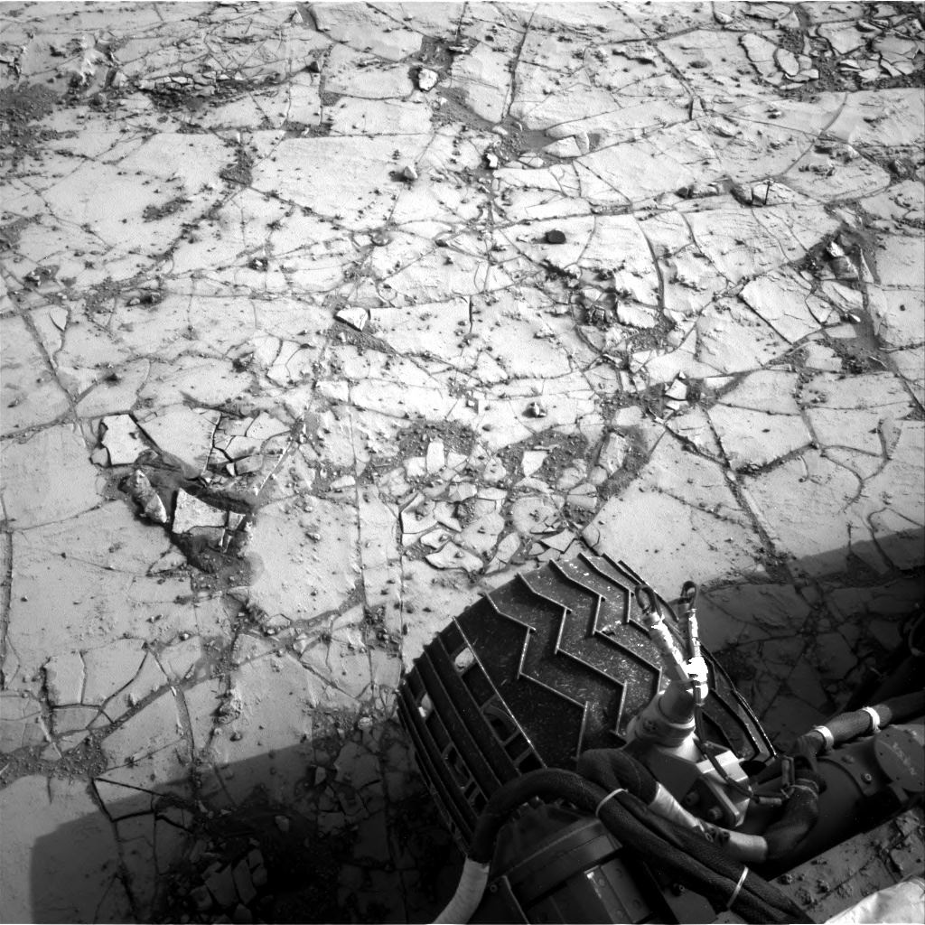 Nasa's Mars rover Curiosity acquired this image using its Right Navigation Camera on Sol 862, at drive 2958, site number 44