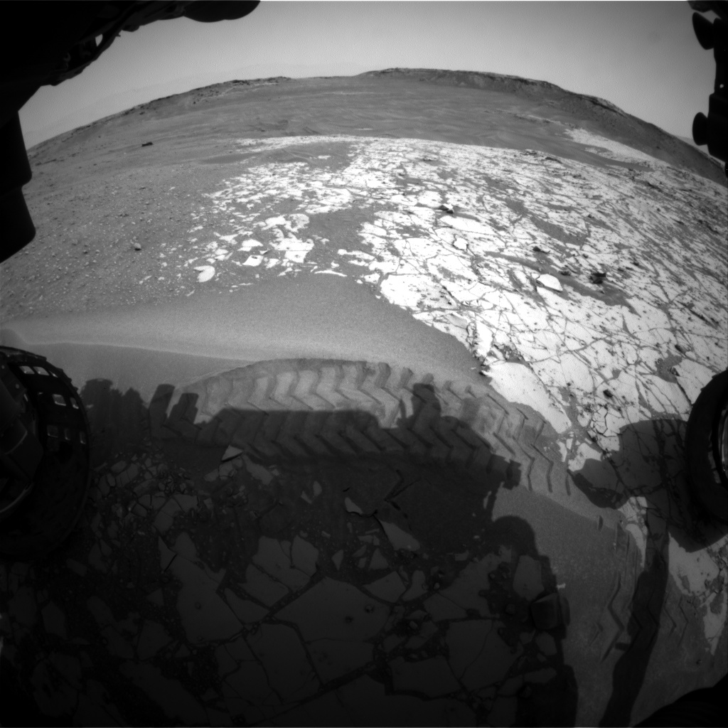 Nasa's Mars rover Curiosity acquired this image using its Front Hazard Avoidance Camera (Front Hazcam) on Sol 863, at drive 2958, site number 44