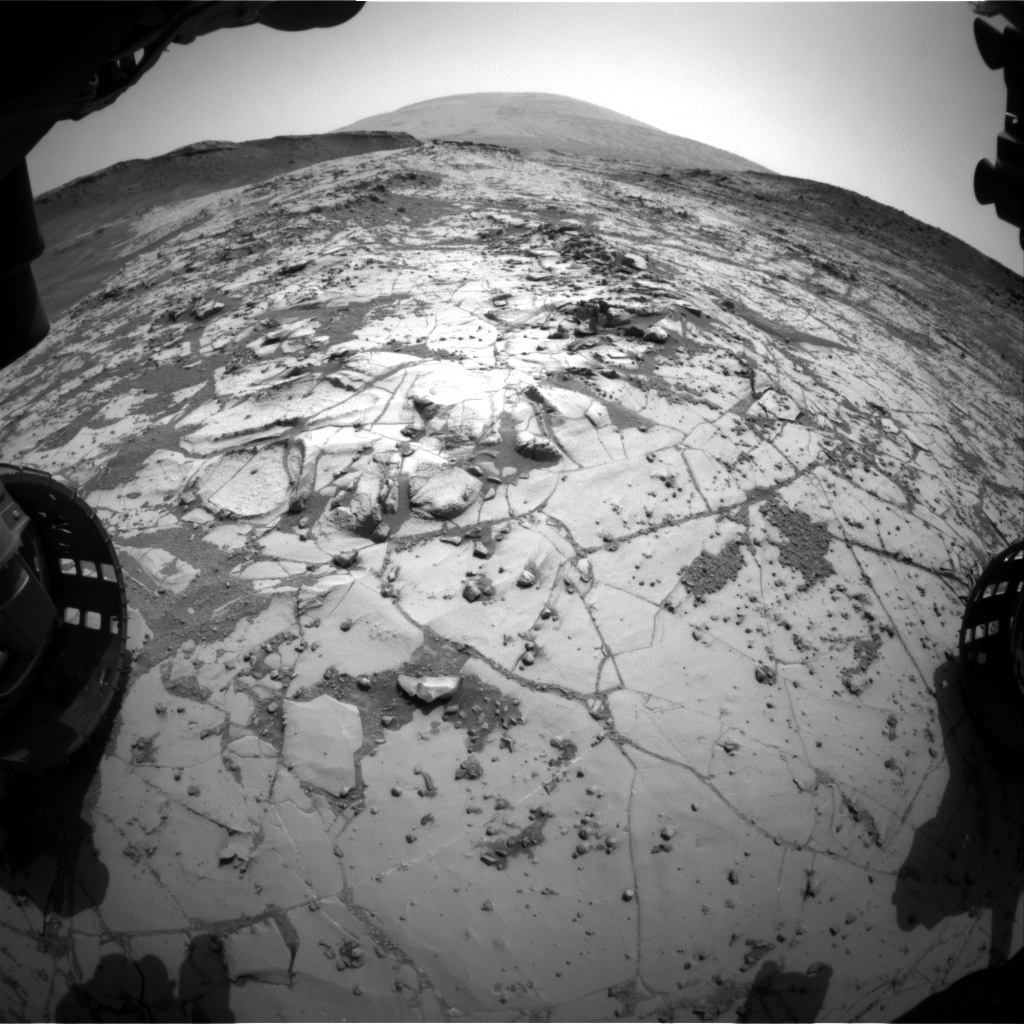 Nasa's Mars rover Curiosity acquired this image using its Front Hazard Avoidance Camera (Front Hazcam) on Sol 865, at drive 0, site number 45