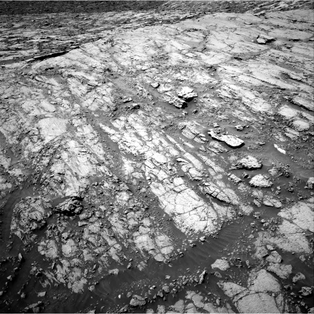 Nasa's Mars rover Curiosity acquired this image using its Right Navigation Camera on Sol 1837, at drive 1280, site number 66