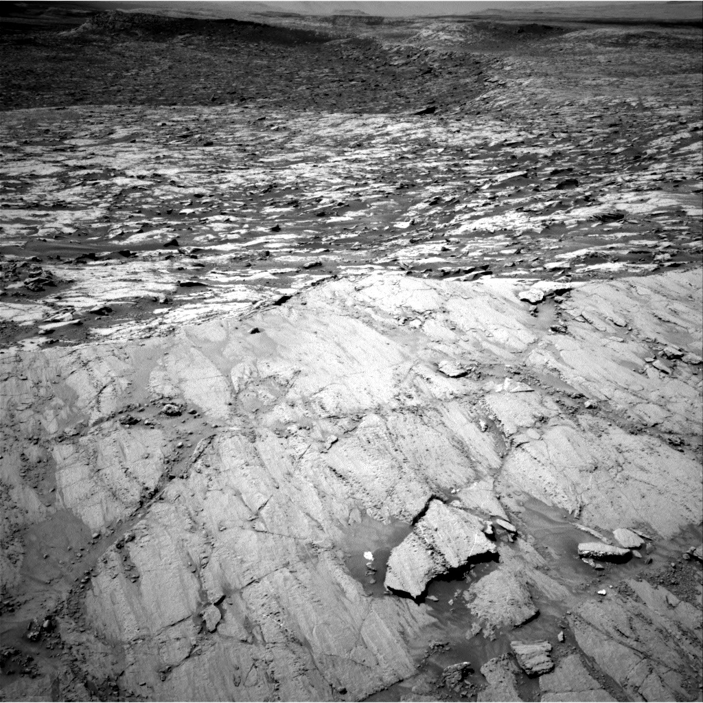 Nasa's Mars rover Curiosity acquired this image using its Right Navigation Camera on Sol 1837, at drive 1322, site number 66