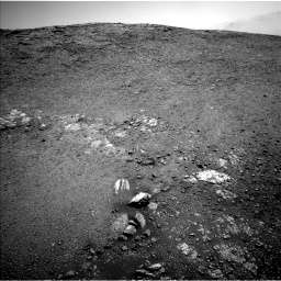 Nasa's Mars rover Curiosity acquired this image using its Left Navigation Camera on Sol 2475, at drive 2372, site number 76