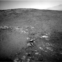 Nasa's Mars rover Curiosity acquired this image using its Left Navigation Camera on Sol 2475, at drive 2378, site number 76