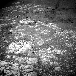 Nasa's Mars rover Curiosity acquired this image using its Left Navigation Camera on Sol 2475, at drive 2516, site number 76