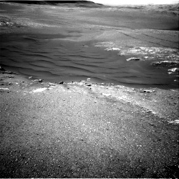 Nasa's Mars rover Curiosity acquired this image using its Right Navigation Camera on Sol 2475, at drive 2396, site number 76