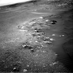 Nasa's Mars rover Curiosity acquired this image using its Right Navigation Camera on Sol 2475, at drive 2456, site number 76