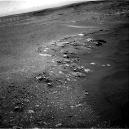 Nasa's Mars rover Curiosity acquired this image using its Right Navigation Camera on Sol 2475, at drive 2462, site number 76