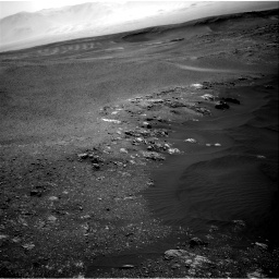 Nasa's Mars rover Curiosity acquired this image using its Right Navigation Camera on Sol 2475, at drive 2474, site number 76