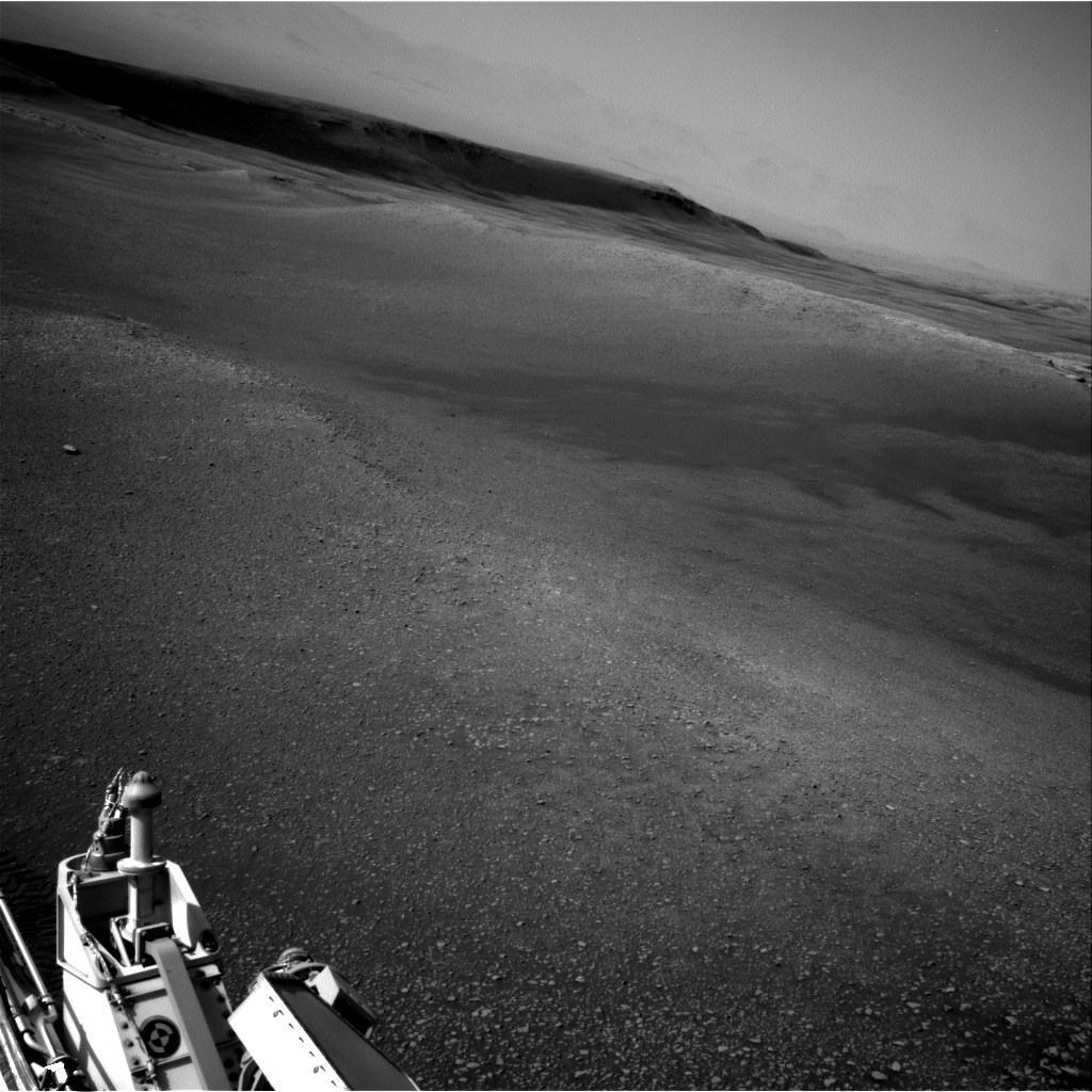 Nasa's Mars rover Curiosity acquired this image using its Right Navigation Camera on Sol 2475, at drive 2594, site number 76