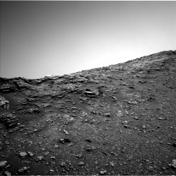 Nasa's Mars rover Curiosity acquired this image using its Left Navigation Camera on Sol 2476, at drive 2606, site number 76