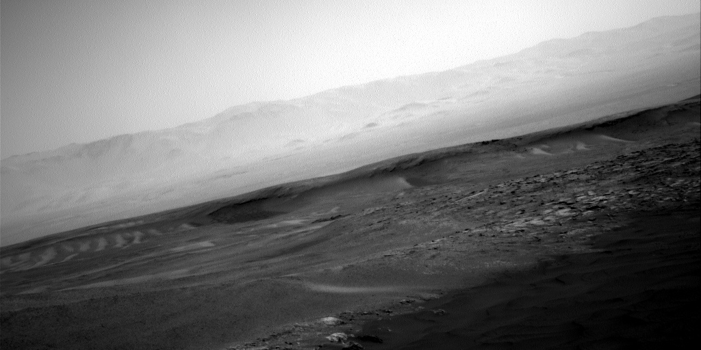 Nasa's Mars rover Curiosity acquired this image using its Right Navigation Camera on Sol 2476, at drive 2594, site number 76