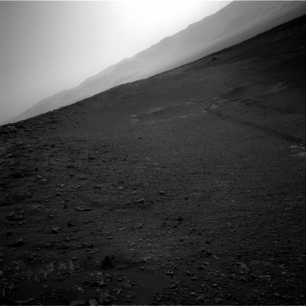 Nasa's Mars rover Curiosity acquired this image using its Right Navigation Camera on Sol 2476, at drive 2672, site number 76