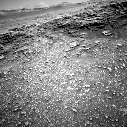 Nasa's Mars rover Curiosity acquired this image using its Left Navigation Camera on Sol 2477, at drive 2726, site number 76