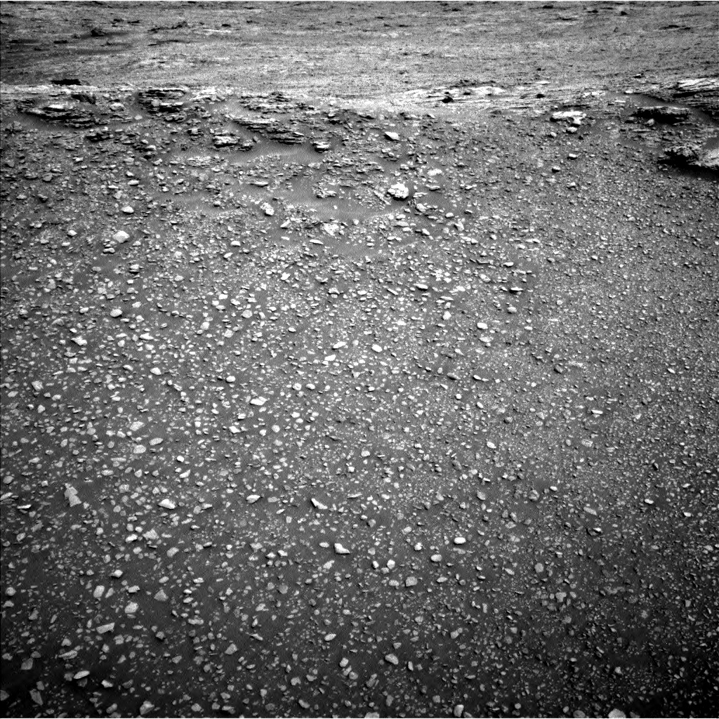 Nasa's Mars rover Curiosity acquired this image using its Left Navigation Camera on Sol 2477, at drive 2792, site number 76