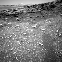 Nasa's Mars rover Curiosity acquired this image using its Right Navigation Camera on Sol 2477, at drive 2714, site number 76