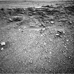 Nasa's Mars rover Curiosity acquired this image using its Right Navigation Camera on Sol 2477, at drive 2744, site number 76