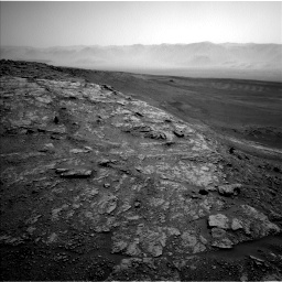 Nasa's Mars rover Curiosity acquired this image using its Left Navigation Camera on Sol 2480, at drive 2852, site number 76