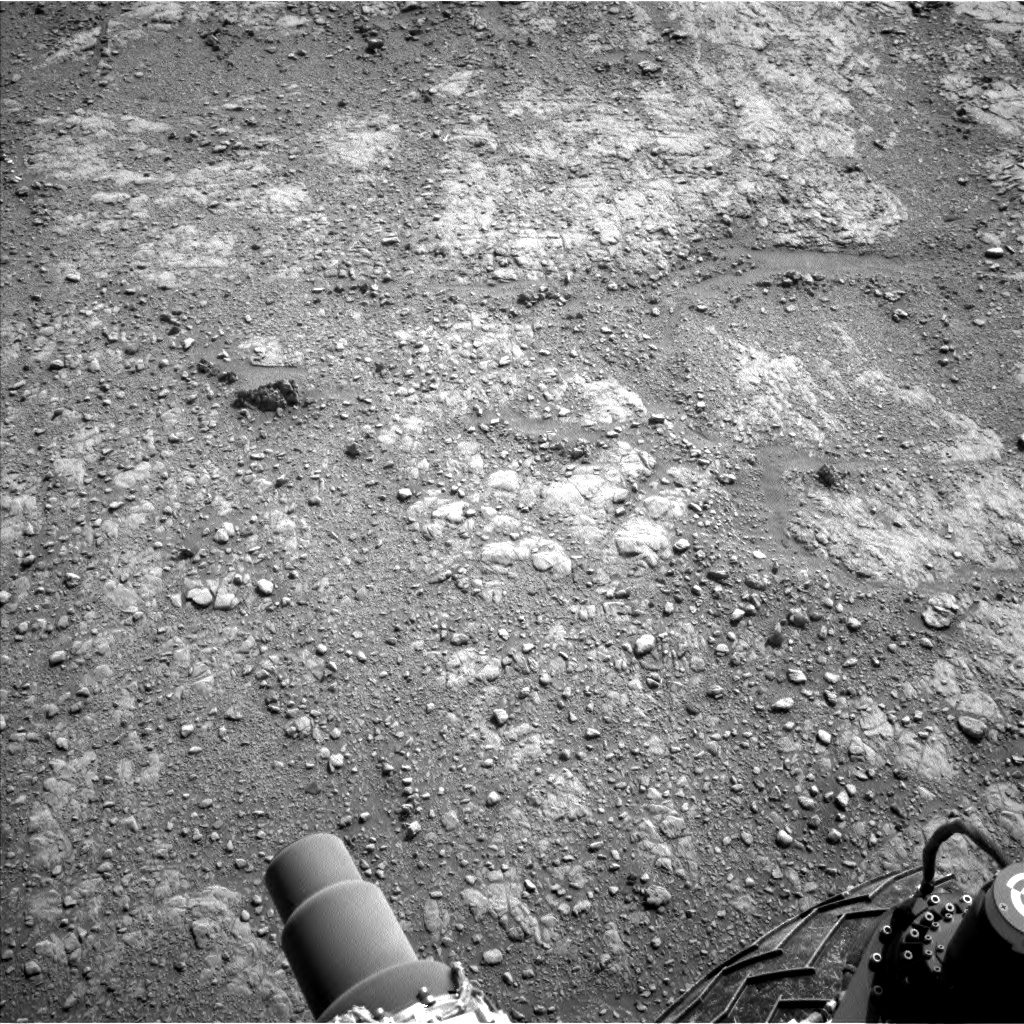 Nasa's Mars rover Curiosity acquired this image using its Left Navigation Camera on Sol 2480, at drive 2930, site number 76