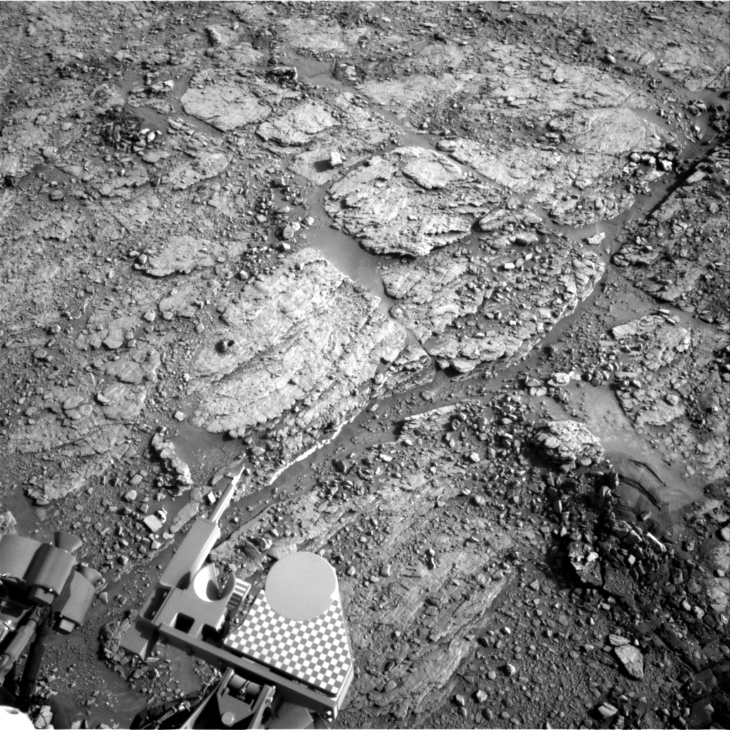 Nasa's Mars rover Curiosity acquired this image using its Right Navigation Camera on Sol 2490, at drive 3002, site number 76