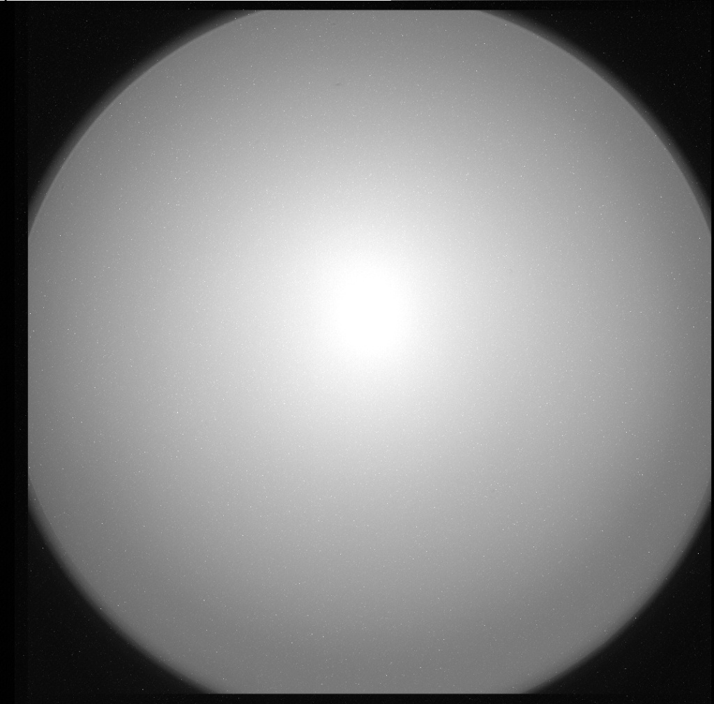 NASA's Mars rover Curiosity acquired this image using its Chemistry & Camera (ChemCam) on Sol 0