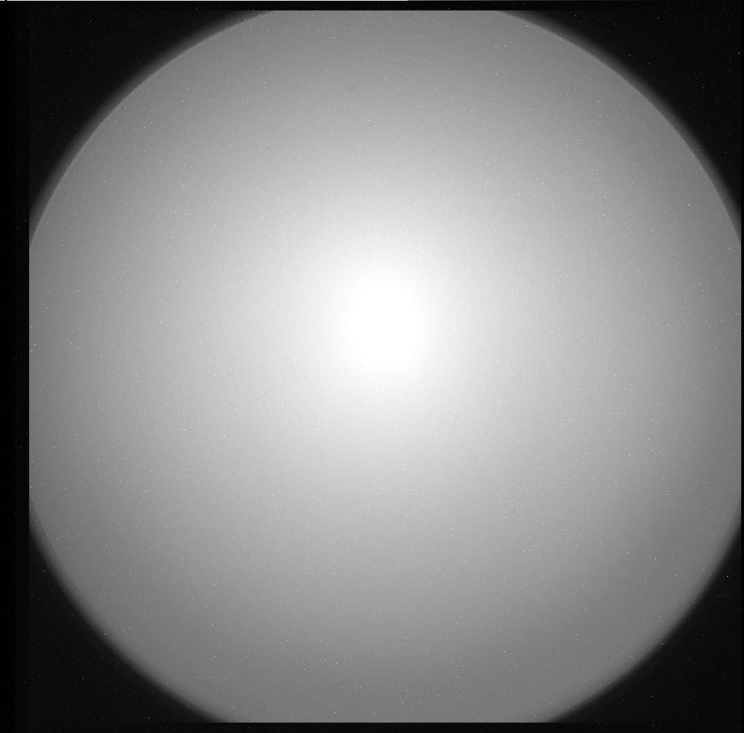 Nasa's Mars rover Curiosity acquired this image using its Chemistry & Camera (ChemCam) on Sol 0, at drive 0, site number 0