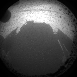 NASA's Mars rover Curiosity acquired this image using its Front Hazard Avoidance Cameras (Front Hazcams) on Sol 0
