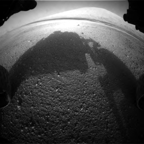 Front Hazcam Left A onboard NASA's Mars rover Curiosit